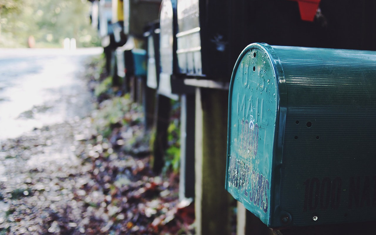 Kontakt-Mail Postfach Brifkasten
